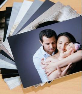Contre-collage carton blanc 13x18cm