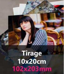 TIRAGE PHOTO 10x20