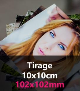 TIRAGES CARRES 10x10