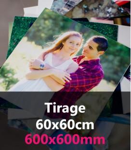 TIRAGES CARRES 60x60