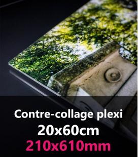 CONTRE-COLLAGE PLEXI 20x60