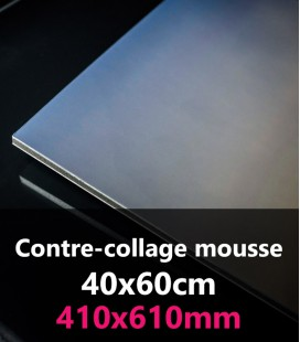 CONTRE-COLLAGE MOUSSE 40x60