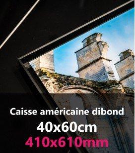 CAISSE AMERICAINE DIBOND 40X60