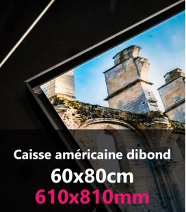 CAISSE AMERICAINE DIBOND 60x80