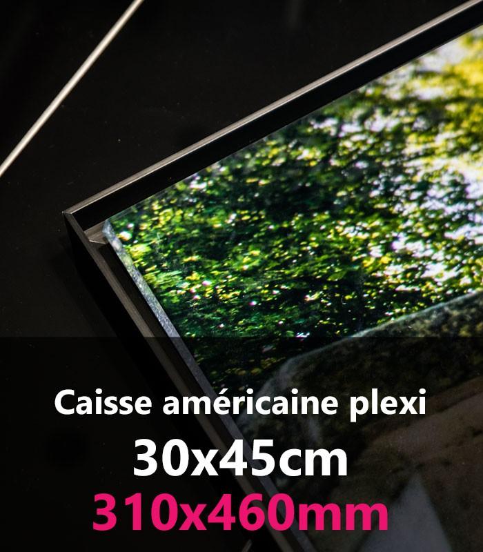 caisse americaine plexi 30x45 crea livre labo photo pro paris. Black Bedroom Furniture Sets. Home Design Ideas