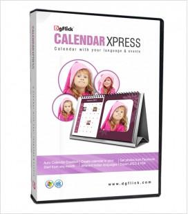 DGFLICK Calendar Xpress BASIC