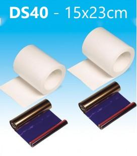 DNP KIT D'IMPRESSION DS40 15X23CM
