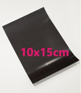 FEUILLE MAGNÉTIQUE ADHÉSIVE 10x15 0.3MM
