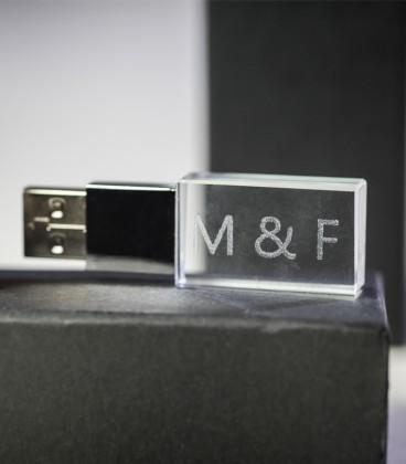USB Crystal 8GO - USB 3.0