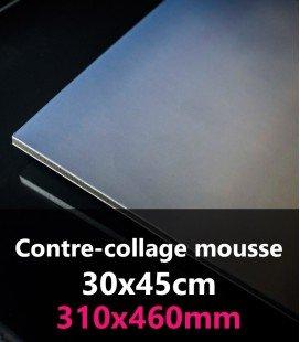 CONTRE-COLLAGE MOUSSE 30x45