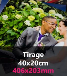 TIRAGE PANORAMIQUE 40x20