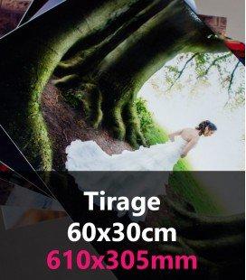 TIRAGE PANORAMIQUE 60x30
