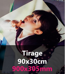 TIRAGE PANORAMIQUE 90x30