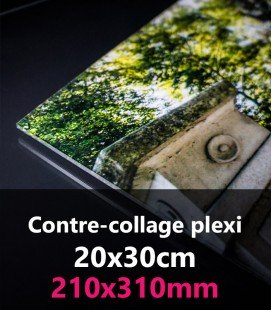 CONTRE-COLLAGE PLEXI 20x30