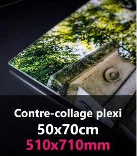 CONTRE-COLLAGE PLEXI 50x70