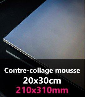 CONTRE-COLLAGE MOUSSE 20x30