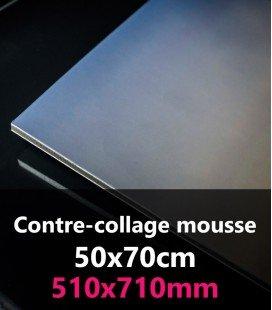 CONTRE-COLLAGE MOUSSE 50x70