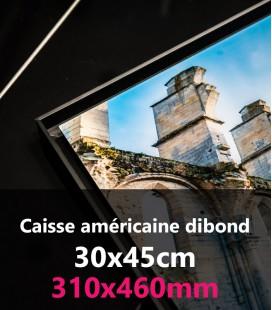 CAISSE AMERICAINE DIBOND 30X45