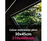 CAISSE AMERICAINE PLEXI 30x45