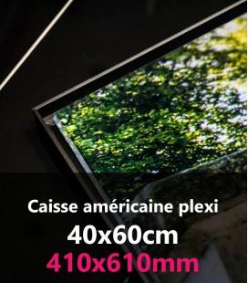 CAISSE AMERICAINE PLEXI 40x60
