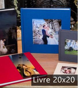 Livre Révolution 20x20 - Nbr de pages - 30 pages (15 feuilles), Papier - Mat