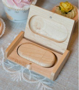 USB WOOD JEWEL 8 Go USB 3.0