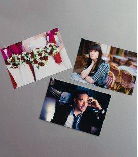 MAGNETS PHOTO CARTONNÉE 10x15_ 3 exemplaires