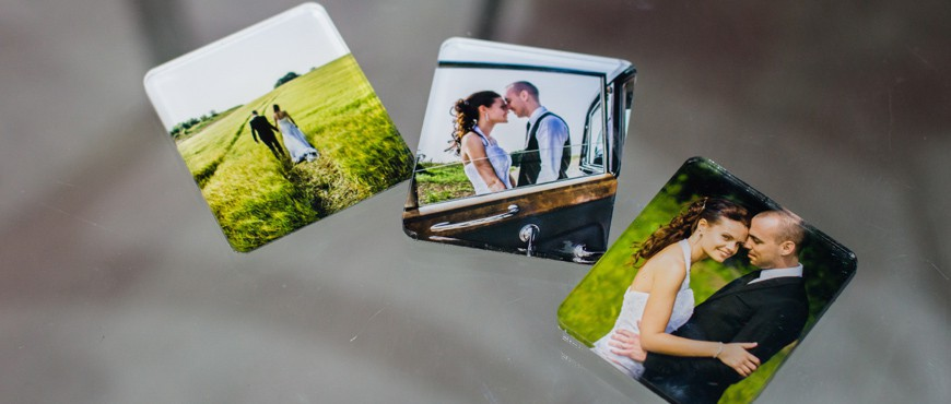 PLEXI PHOTO MAGNET