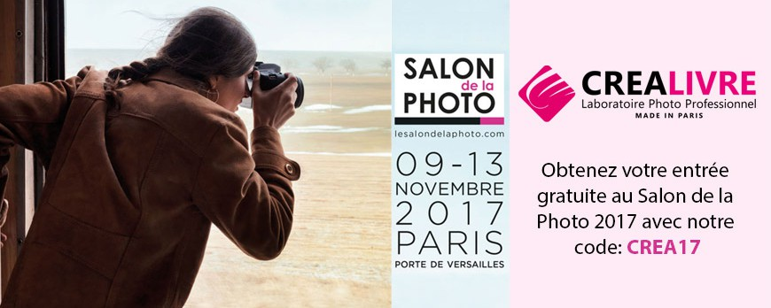 RDV au Salon de la Photo du 9 au 13 Novembre 2017
