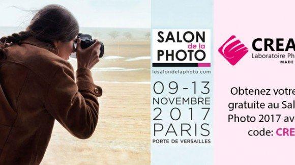 RDV au Salon de la Photo du 9 au 13 Novembre 2017