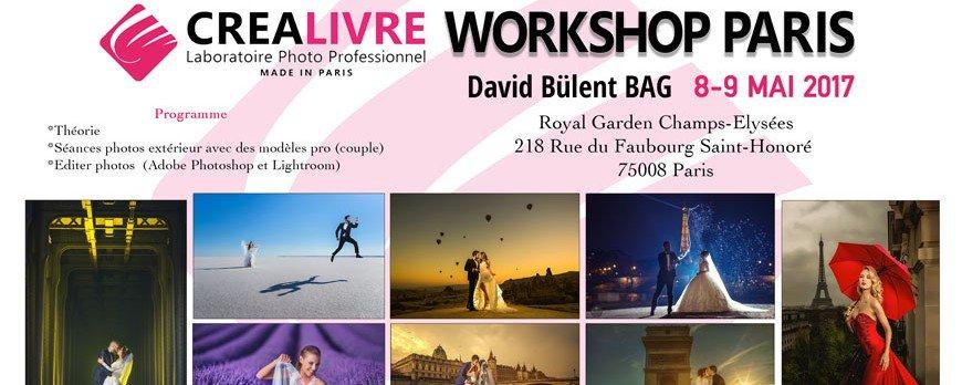 Workshop David Bulent à Paris les 8-9 Mai 2017